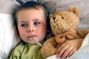 copil bolnav scarlatina