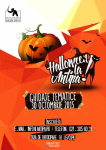 "Halloween la ""Antipa""!"