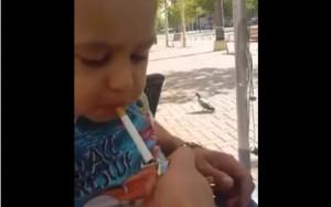copil fumand