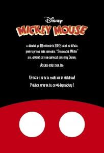 E ziua lui Mickey Mouse, a implinit 87 de ani