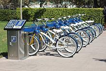 Clujenii au la dispozitie o retea de Bike Sharing