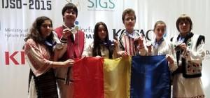 Cinci medalii de argint si una de bronz pentru elevii romani la Olimpiada Internationala de Stiinţe pentru juniori 2015