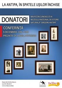 """Donatori mai puțin cunoscuti ai Muzeului Național de Istorie Naturală """"Grigore Antipa"""""""