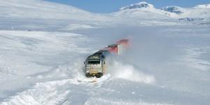 Traficul feroviar este afectat de ninsori