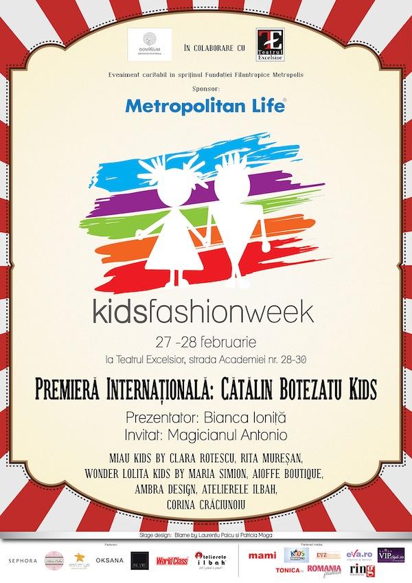 Kids Fashion Week Bucuresti 2016