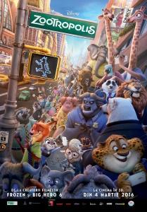 Afla cum a fost construit Zootropolis – cel mai nou oras din universul Disney