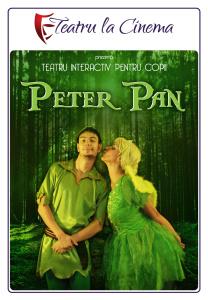 Peter Pan, la Teatrul la Cinema, sambata, 9 aprilie