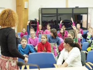Peste 1100 de elevi si cadre didactice, din 6 orase, au asistat  la proiectiile de film CinEd
