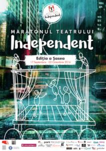 Maratonul Teatrului Independent – Bucharest Fringe, editia a VI-a, 17 septembrie – 2 octombrie 2016