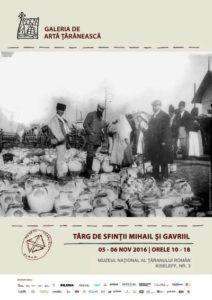Targ de Sfintii Mihail si Gavriil la Muzeul National al Taranului Roman