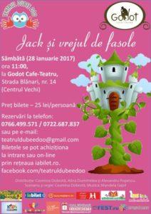 Jack si vrejul de fasole, spectacol de teatru interactiv pentru copii și nu numai