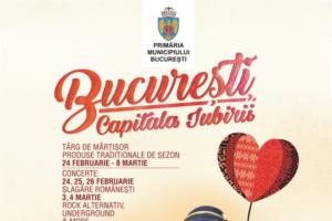 """Incepe """"Bucuresti, Capitala Iubirii"""", in Piata Universitatii"""