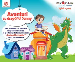 """Aventurile dragonului Sunny continua in """"Cartierul Povestilor"""""""