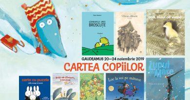 Cartea Copiilor, la târgul de carte Gaudeamus 2019
