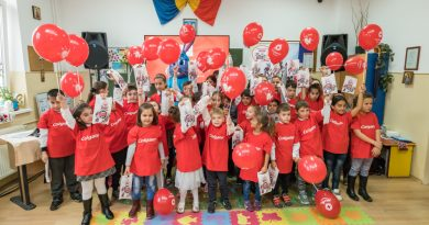 """Voluntarii Crucii Roșii Române lansează campania  """"Primul ajutor pentru dințișor"""""""