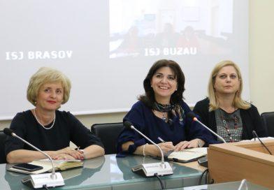 Ministrul Educației și Cercetării, Monica Cristina Anisie, a susținut vineri, 8 noiembrie, prima videoconferință cu inspectoratele școlare județene/ISMB