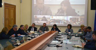 Videoconferinţă la Ministerul Educației și Cercetării privind gripa