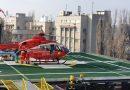 Gravidă cu probleme cardiace grave, adusă de urgenţă cu elicopterul pe heliportul Spitalului Universitar