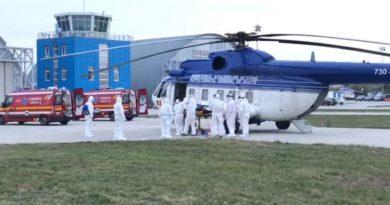 Elicoptere ale MAI au intervenit pentru salvarea a 4 bebeluşi