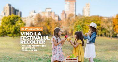 Pe 26 și 27 septembrie are loc Festivalul Recoltei la Veranda Mall!