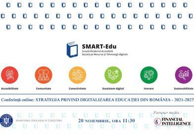 """Prima consultare publică pentru elaborarea """"Strategiei pentru Digitalizarea Educației din România – SMART-Edu"""": companiile IT, societatea civilă și mediul guvernamental"""