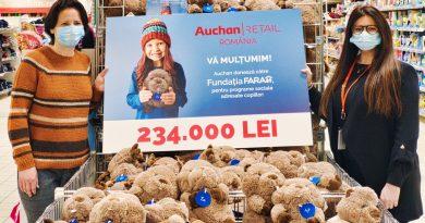 Peste 30.000 de români au cumpărat castorul de pluș Titi, donând circa 50.000 de euro pentru copiii din medii defavorizate