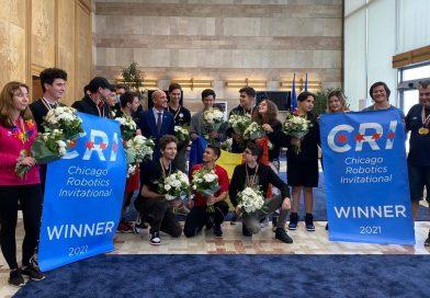 Ministrul Educaţiei a felicitat echipa de robotică AutoVortex pentru performanţa de la Campionatul de Robotică din SUA