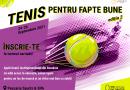Cea de-a doua ediție a turneului Tenis Pentru Fapte Bune are loc între 24 și 26 septembrie